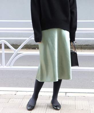 FRAMe WORK (フレーム ワーク) - FRAMeWORK サテンスカート◆