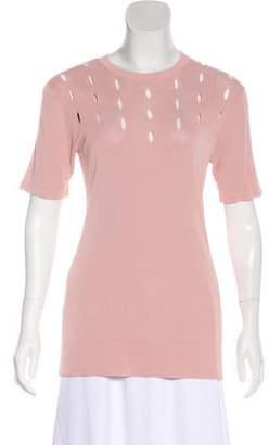 Roksanda Short Sleeve Silk Top