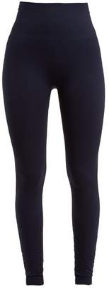 Lndr - Branded Compression Performance Leggings - Womens - Navy