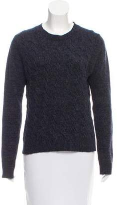 Opening Ceremony Cable Knit Crew Neck Sweater