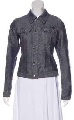Dolce & Gabbana Long Sleeve Denim Jacket