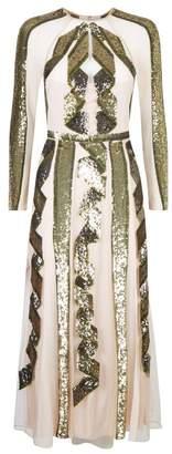 Temperley London Insignia Sequin Dress