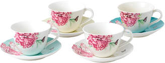 Royal Albert Miranda Kerr for Everyday Friendship Teacup & Saucer Set of 4