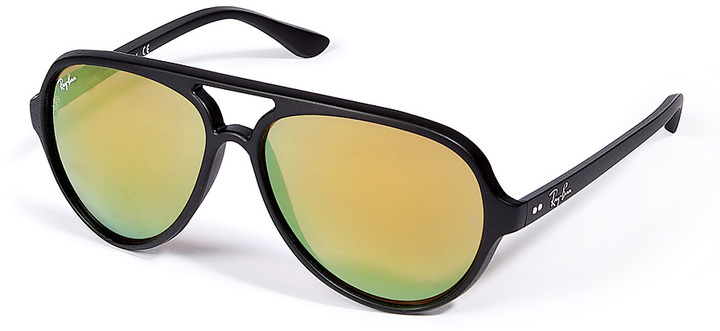 Ray-Ban Cats 5000 MIrrored Sunglasses