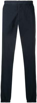 Moschino tapered leg trousers