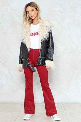 Nasty Gal Of Your Own A-Cord Flare Pants