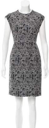 Derek Lam Patterned Mini Dress