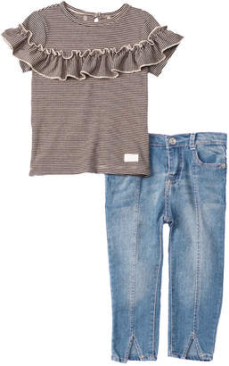 7 For All Mankind Seven 7 2Pc Denim Set