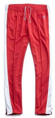 Todd Snyder + Champion Stripe Track Pant in Red