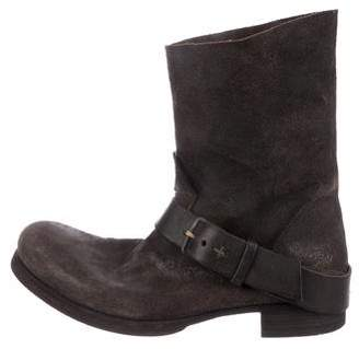 ma+ Horse Leather Tall Buckle Boots w/ Tags