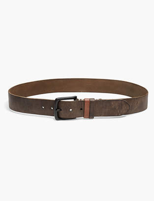 Lucky Brand Two Tone Keeper Belt