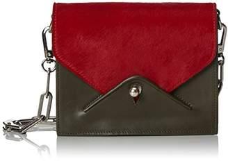 Paul & Joe Gode, Women's Cross-Body Bag, Rot (Rouge/red), 14x7x18 cm (B x H T)