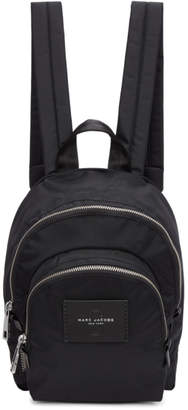 Marc Jacobs Black Mini Double Backpack