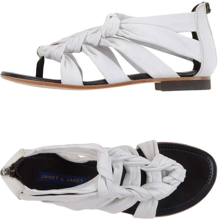Janet & Janet Toe strap sandals - Item 11099899