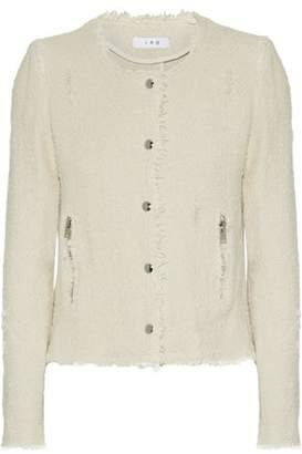 IRO Frayed Cotton-Tweed Jacket