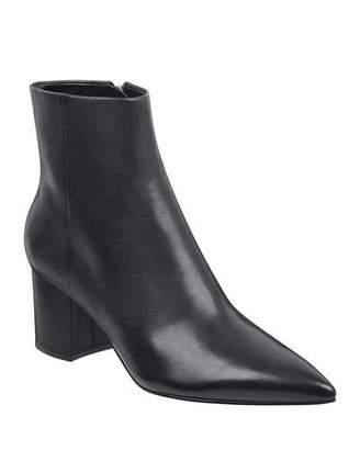 Marc Fisher Jarli Leather Booties
