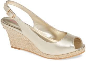 Lilly Pulitzer R) Gigi Slingback Wedge Sandal