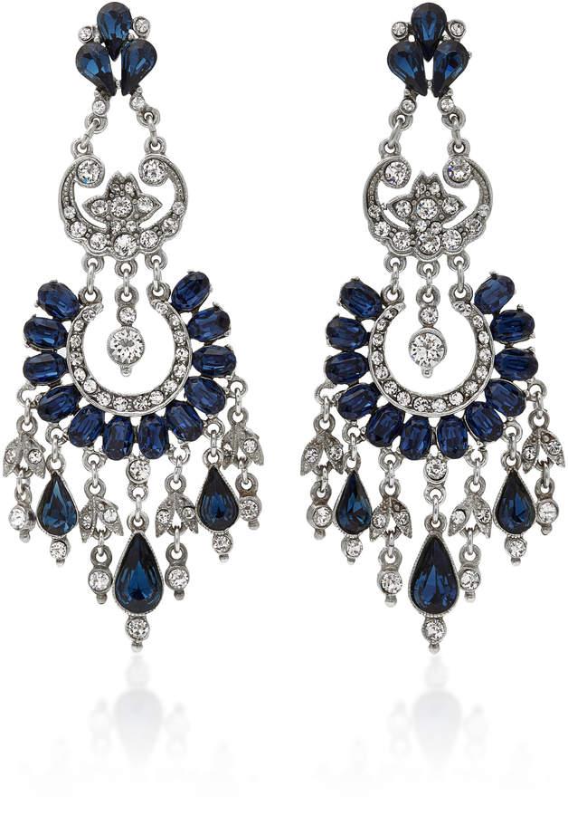 Ben-AmunBen Amun Silver-Tone Crystal Earrings