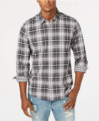American Rag Men's Sam Double-Face Plaid Shirt, Created for Macy's