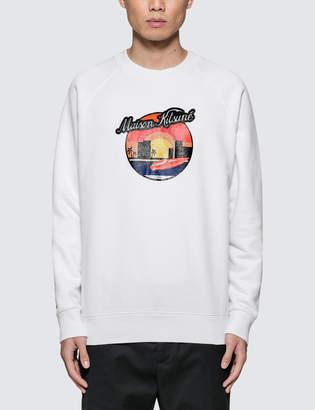 MAISON KITSUNÉ Sunset Sweatshirt