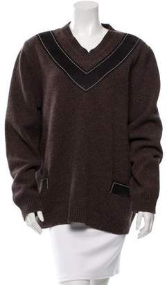 Derek Lam Wool V-Neck Sweater w/ Tags