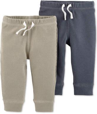 Carter's Baby Boys 2-Pack Cotton Fleece Jogger Pants