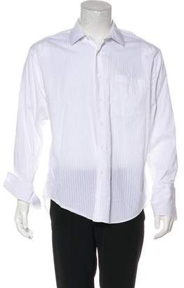 Givenchy Woven French Cuff Shirt