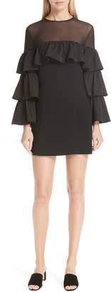 Cinq à Sept Valentina Ruffle Sleeve Dress