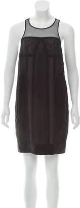 Whistles Sleeveless Mini Dress