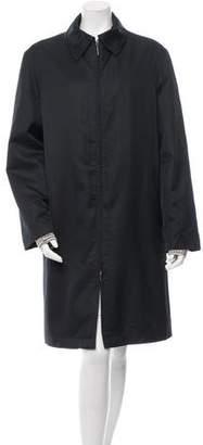 Missoni Wool-Lined Zip-Up Coat
