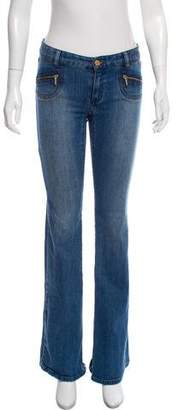 Michael Kors Flared Low-Rise Jeans