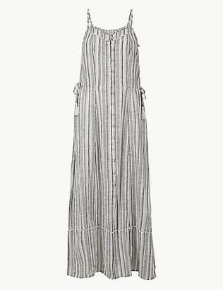 1f35027fa186 M&S Collection Pure Cotton Printed Beach Dress
