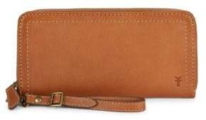 Frye Lily Leather Zip-Around Wallet