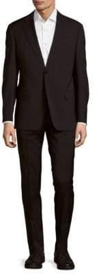 Armani Collezioni Notch-Lapel Woolen Suit