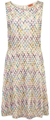 Missoni sleeveless fitted dress