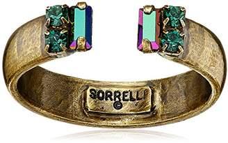 "Sorrelli Wild Fern"" Petite Crystal Open Ring"