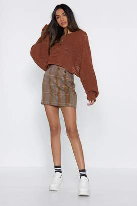 Nasty Gal Wings of My Love Batwing Sweater