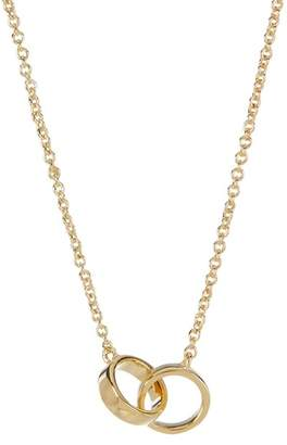 Sterling Forever 14K Gold Plated Interlocking Circles Necklace