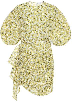 Rhode Resort Pia floral cotton minidress