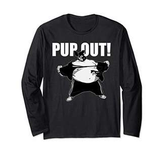 Pup Out version 2 Popular Puppy Play Long Sleeve T-Shirt