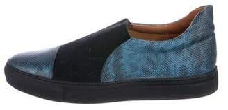 Dries Van Noten Embossed Slip-On Sneakers