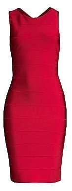 Herve Leger Women's Sleeveless Bandage Cocktail Dress