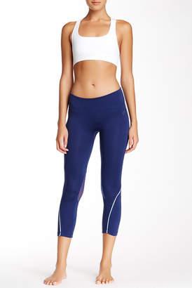 Electric Yoga Reflective Mesh Capri $95 thestylecure.com