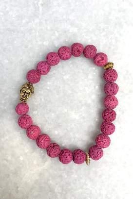 Wild Lilies Jewelry Pink Buddha Bracelet