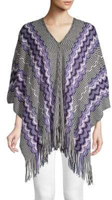 Missoni Knitted Pullover Poncho