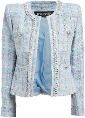 Balmain Boucle Suiting Jacket