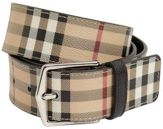 Burberry 40mm Classic Check Belt