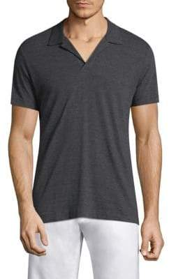 Orlebar Brown Heathered Cotton Polo