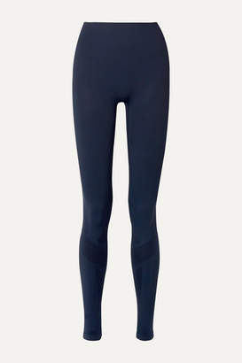 LNDR Eight Eight Compression Seamless Stretch Leggings - Navy