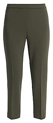Theory Women's Crepe Basic Pull-On Cropped Pants - Size 0